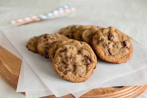 Malted Milk Chocolate Chip Cookies. | Sweet Tooth | Pinterest
