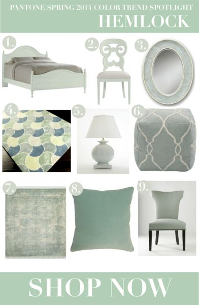 Spring 2014 Home Decor Color Trend | Home Decor Trends | Pinterest