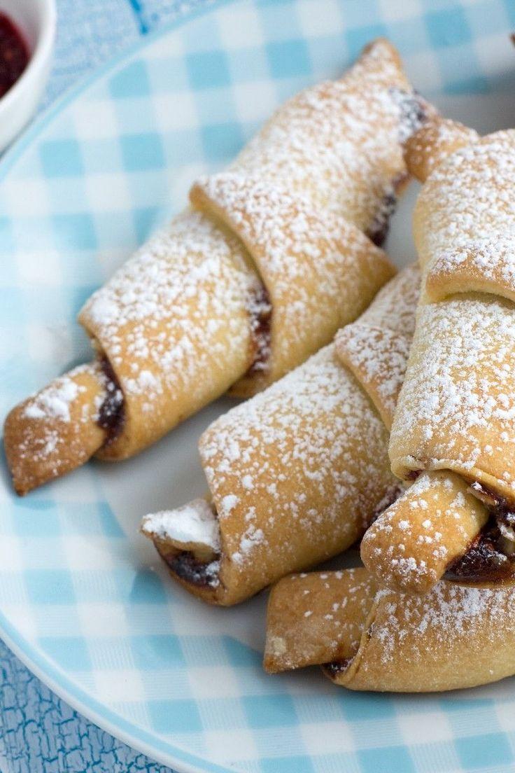 Rugelach Recipe - Cookies Filled with Cinnamon, Raisins & Walnuts