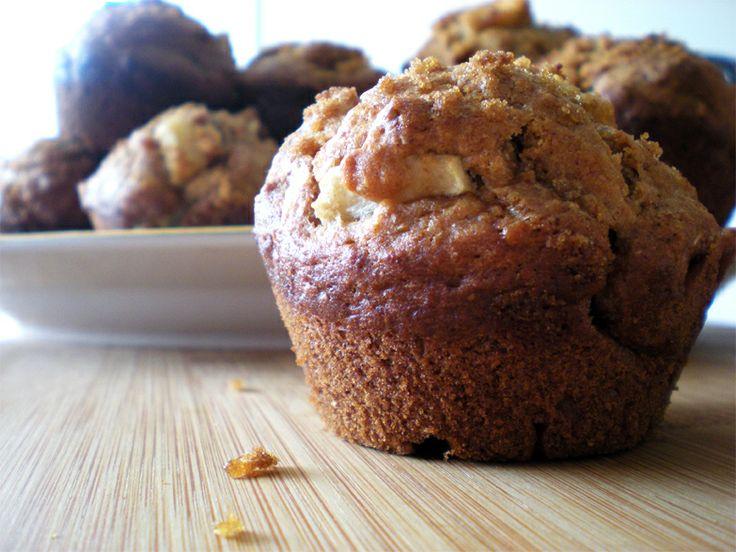 whole wheat apple muffins | Desserts | Pinterest