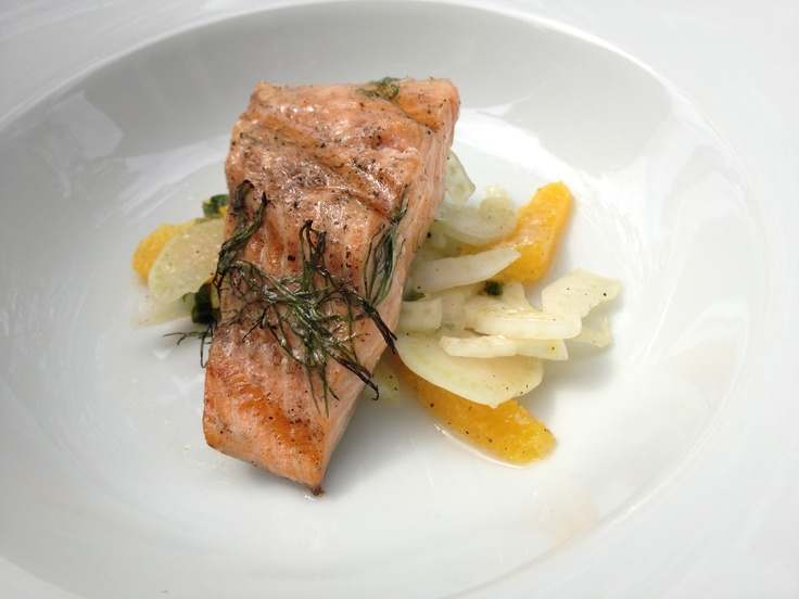 grilled trout with fennel recipes dishmaps grilled fennel grilled ...
