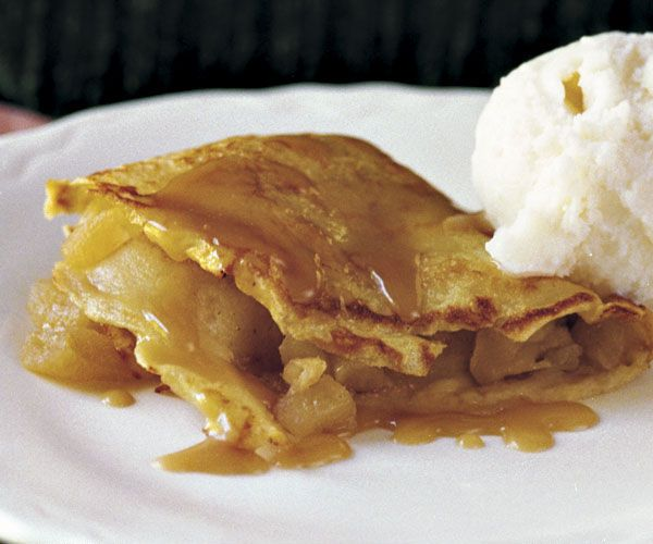 ... Crepes Filling Recipe | Apple-Filled Crêpes with Caramel Sauce