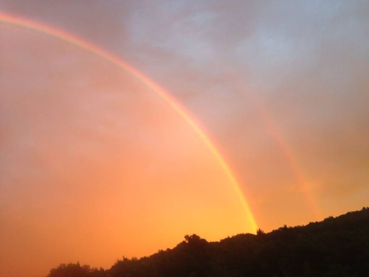 My very own double Rainbow Shot!!! | Rainbows | Pinterest