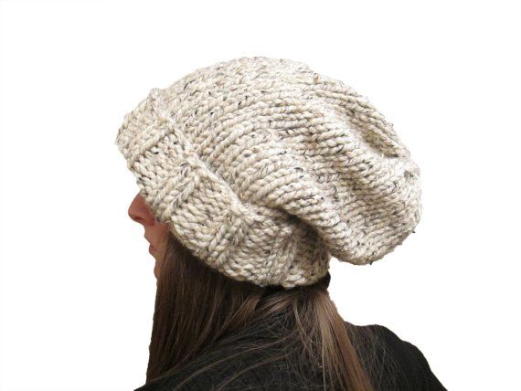WISDOM - Slouchy Hat Knitting Pattern - Womans Knit Hat - a set of I?