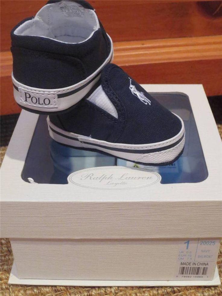 polo ralph lauren baby boy shoes