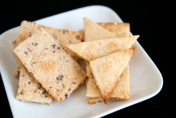 parmesan bacon crackers recipe | use real butter - minus the bacon for ...