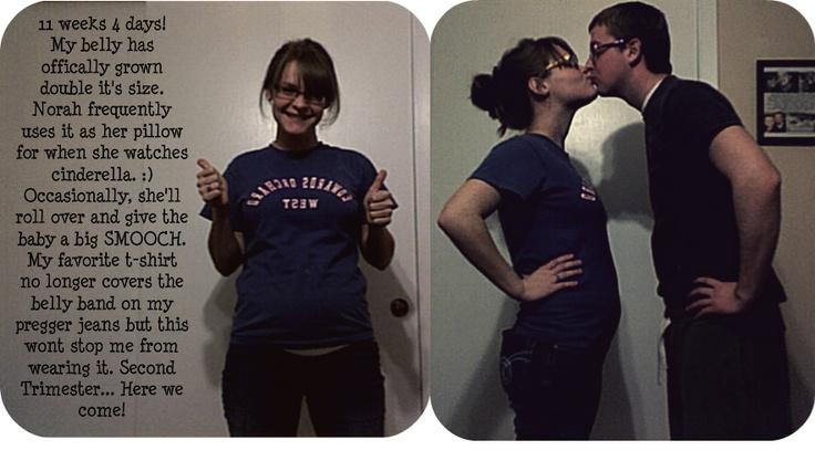 11 weeks & 4 days pregnant   Our little mollie jean   Pinterest