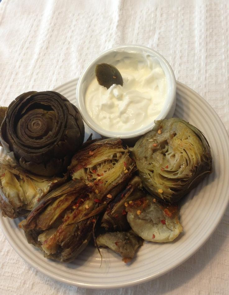 baked sweet potatoes with lemon yogurt with lemon yogurt dipping sauce ...