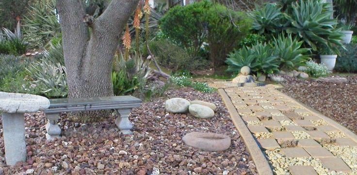 Small Flower Rock Garden Designs Rock Aloe Garden Designs Combine