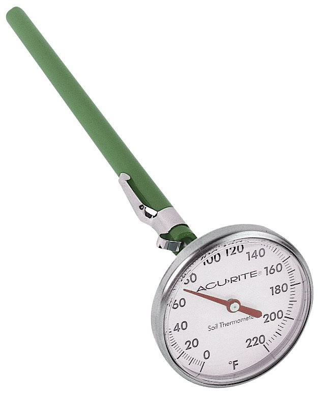Acu rite 00661 soil thermometer gardening pinterest for Soil thermometer