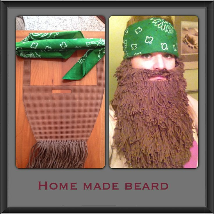 Homemade Duck Dynasty beard