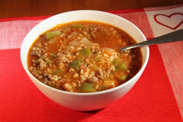 stuffed pepper soup   Recipes - Food   Pinterest