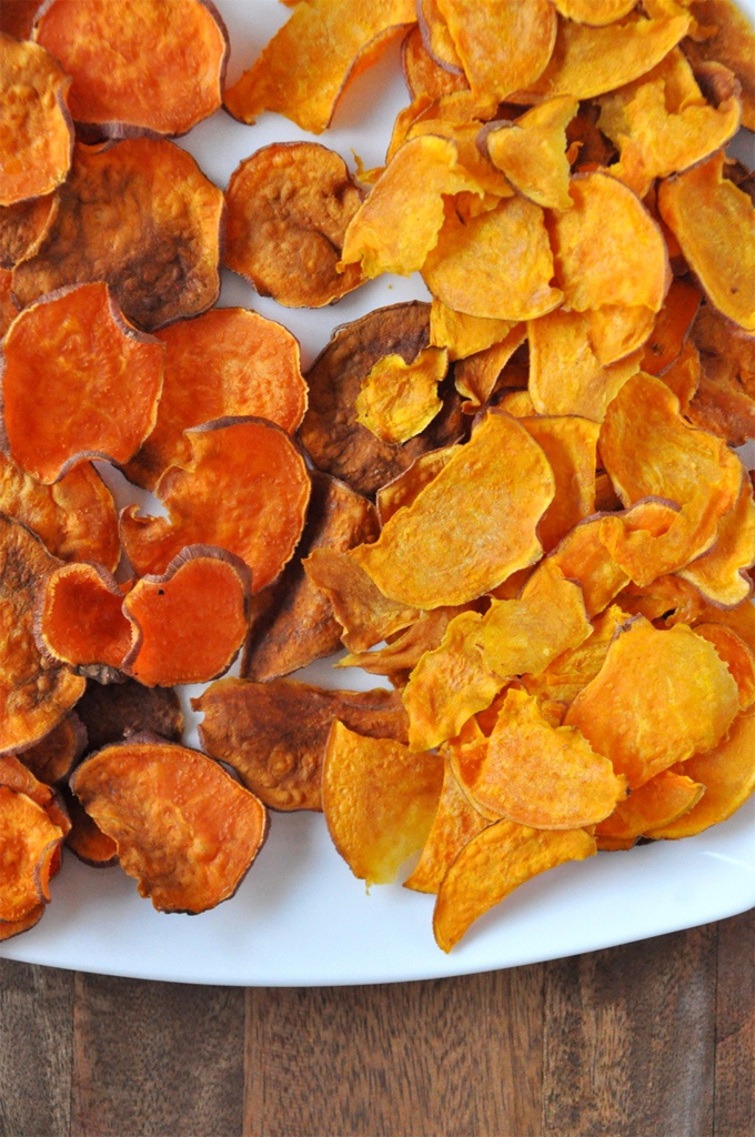 Baked Sweet Potato Chips | Recipe