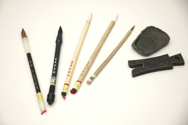 Chinese calligraphy tools old school pinterest