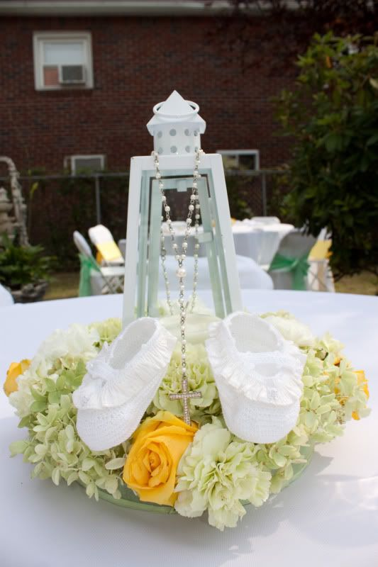 Baptism centerpiece party ideas pinterest