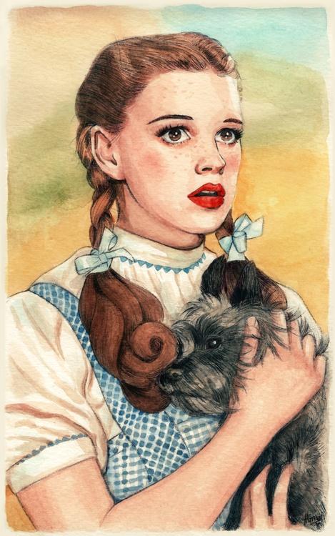 Dorothy art pinterest for Dorothy gale