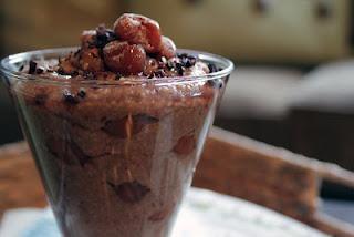 Chocolate Cherry BOMB Oat Bran ~ The Skinny Weigh