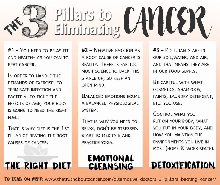 Changing Your Diet During Cancer Treatment advise