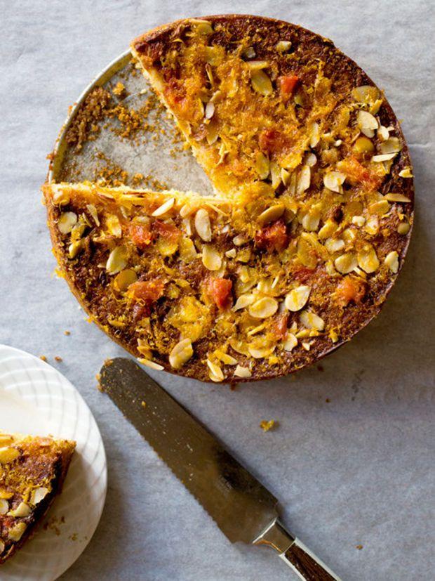 Gluten-Free Grapefruit and Orange Olive Oil Cake