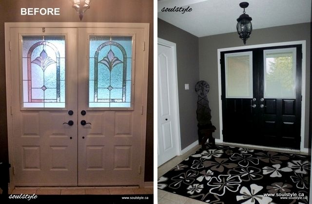 Room Before Foyer : Foyer before after n rooms pinterest