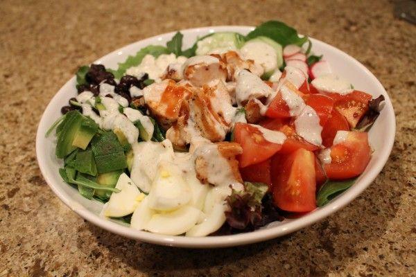 bbq chicken cobb salad | Favorite Recipes | Pinterest