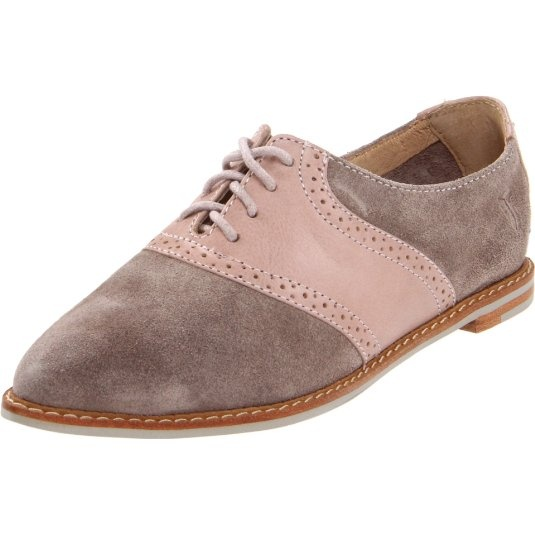 FRYE Women's Delia Saddle Oxford.. Love Frye, love the saddle shoe