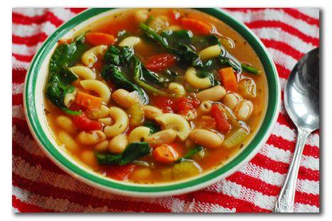 Bean and pasta soup | YUMMMM | Pinterest