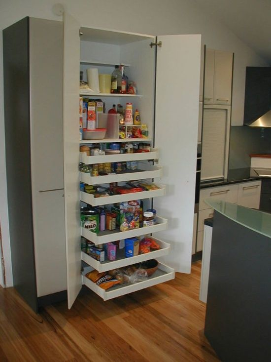 pantry with pull out shelves pantry pinterest