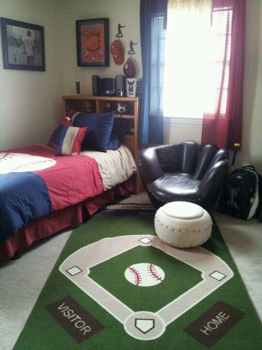 boys baseball room tristans new room