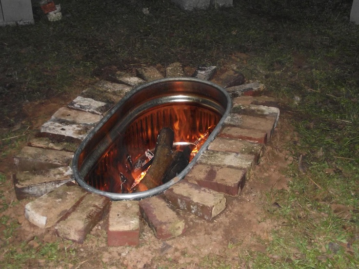 cool idea for a fire pit backyard ideas pinterest