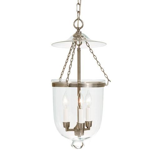 jvi designs 3 light medium bell jar pendant. Black Bedroom Furniture Sets. Home Design Ideas