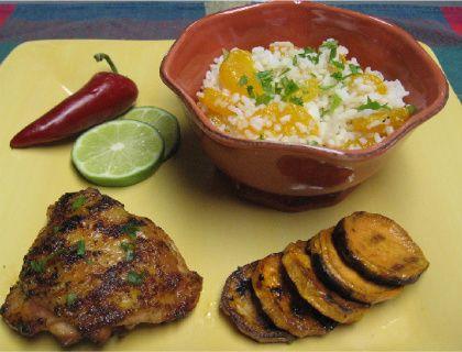 Jerk Chicken Thighs Recipe — Dishmaps