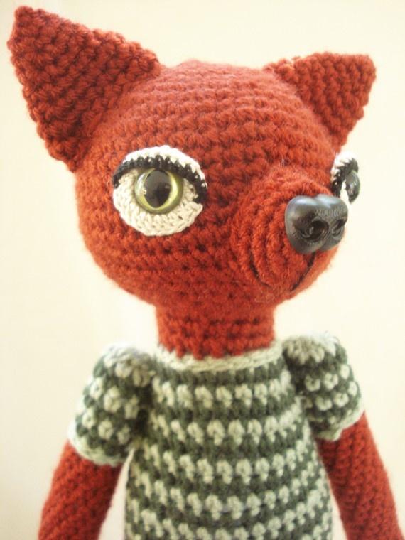 ... me of The Fantastic Mr. Fox!- Amigurumi Crochet Animal-Doll-Fox-Doll