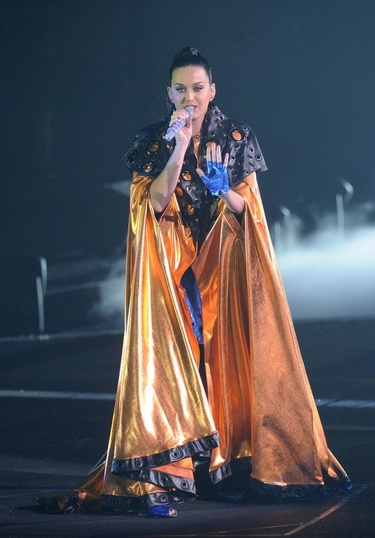 All hail queen Katy. Current GRAMMY nominee Katy Perry commands the stage during a performance on Jan. 11 in Beijing