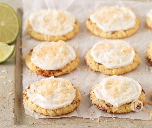 Gluten-Free Coconut Lime Cookies - They are sooooo good!