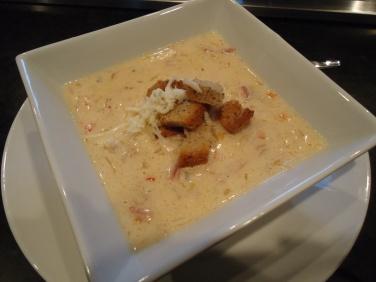 Reuben soup, had this the other day sooooo yummy!!