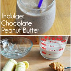 Chocolate Peanut Butter Smoothie | Food & Cooking | Pinterest