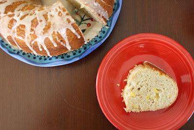 White Bean and Peach Bundt Cake | Sweet stuff please! | Pinterest