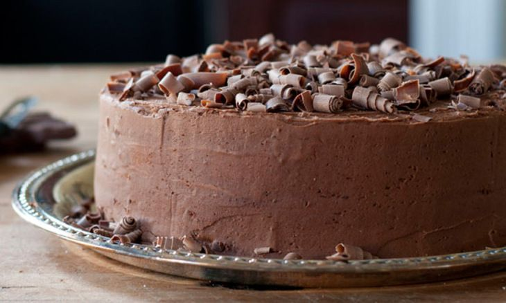 Cappuccino Chocolate Layer Cake with Mocha Frosting | Recipe