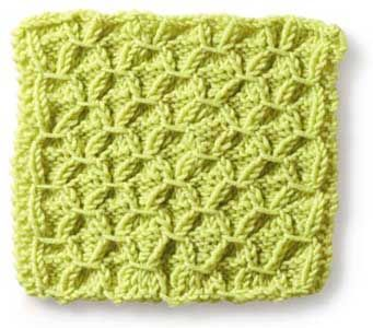 Knitting Stitches N to R - Knitting Stitch Patterns with