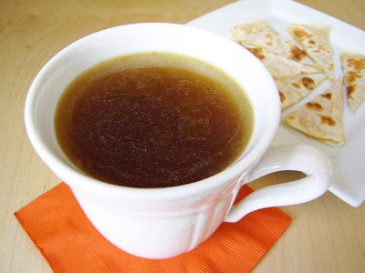 Perpetual slow cooker chicken stock - use some each day and replace ...