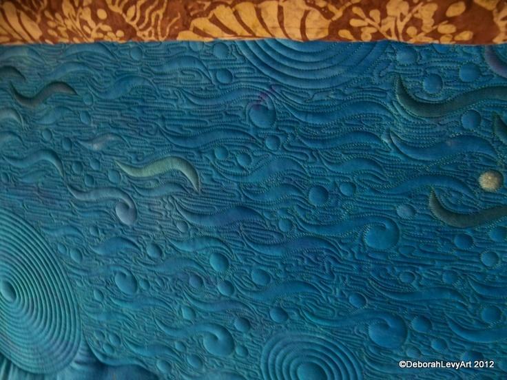 Quilting Designs For Water : water quilt machine quilting ideas Pinterest