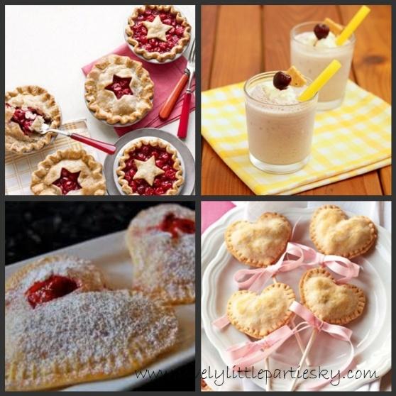 Heart shaped pie pops | Pie + Pie Pops | Pinterest