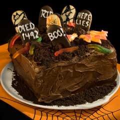 Chilling Graveyard Cake | Unilever: Making Life Better