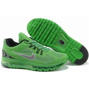 www.asneakers4u.com/ NIKE AIR MAX 2013 cheap mens running shoes green