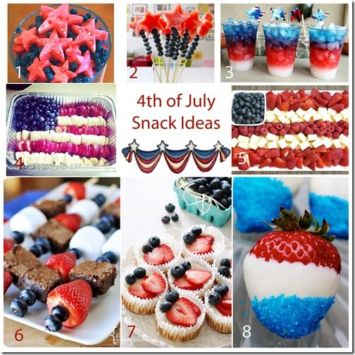 4th july snack foods