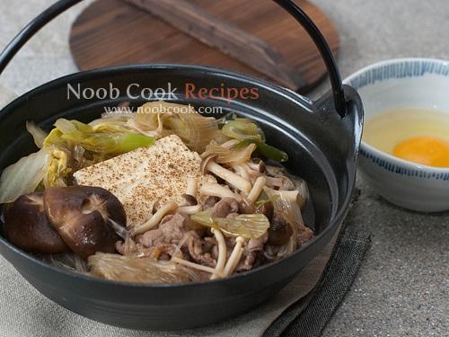 Sukiyaki (Japanese Beef Hot Pot)   Recipes   Pinterest