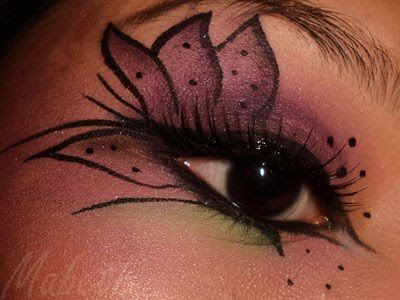 Halloween Eye Makeup Ideas | MABETH & MAKEUP: FOTD: Tiger Lily Eyes for Halloween