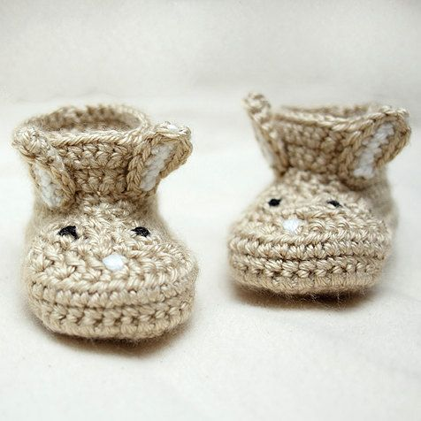 Easy Crocheted Newborn Baby Hat & Booties | AllFreeCrochet.com