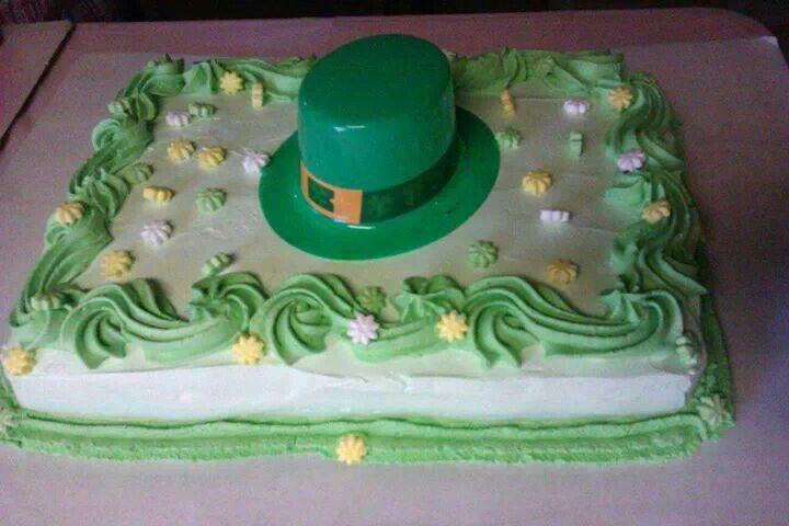 Cake Decorating St Patrick Day : St.Patrick s day cake Cake Decorating Ideas Pinterest